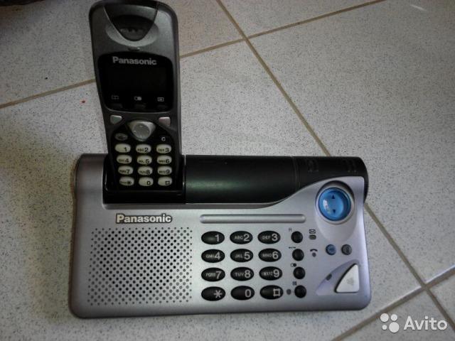 Инструкция к телефону panasonic kx tcd715ru