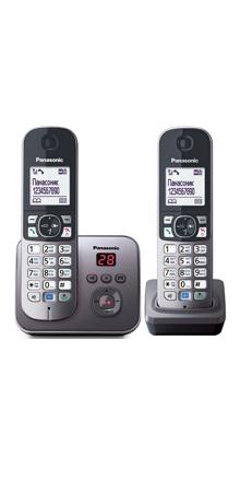Радиотелефон (DECT) Panasonic KX-TG6822RU