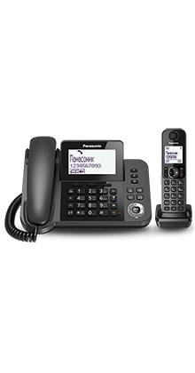 Радиотелефон (DECT) Panasonic KX-TGF310RUM